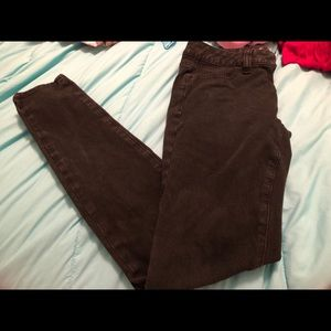AE jeggings size 2